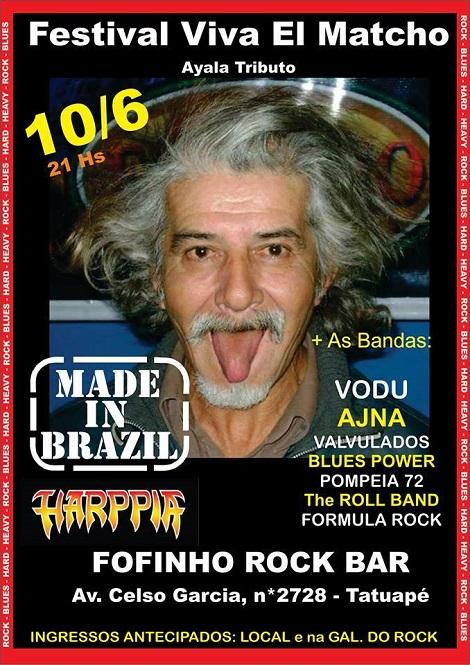 10-06-2016 - FESTIVAL VIVA EL MATCHO - São Paulo - SP