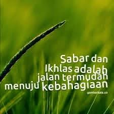 Hikmat Sabar Dan Sabar