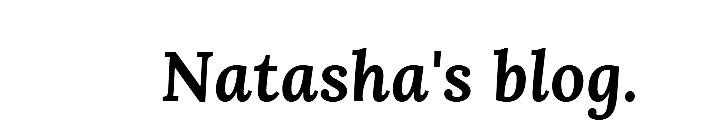 Natasha's blog.