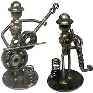 Arte Reciclado, Esculturas en Metal III Parte