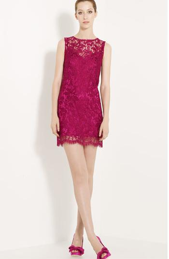 Dolce Gabbana Lace Shift Dress Nordstrom 1575