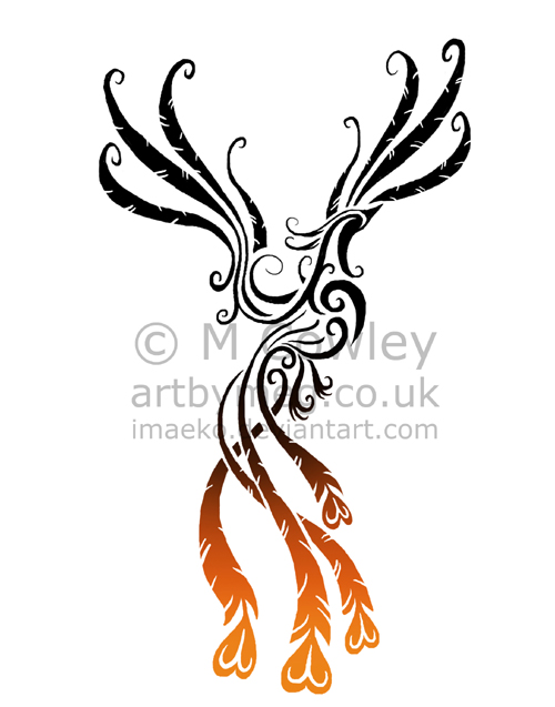 imaeko 39 s artage blog the art and designs of megan cowley phoenix tattoo wip 2. Black Bedroom Furniture Sets. Home Design Ideas