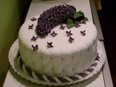 """Tort """"Liliac"""""""