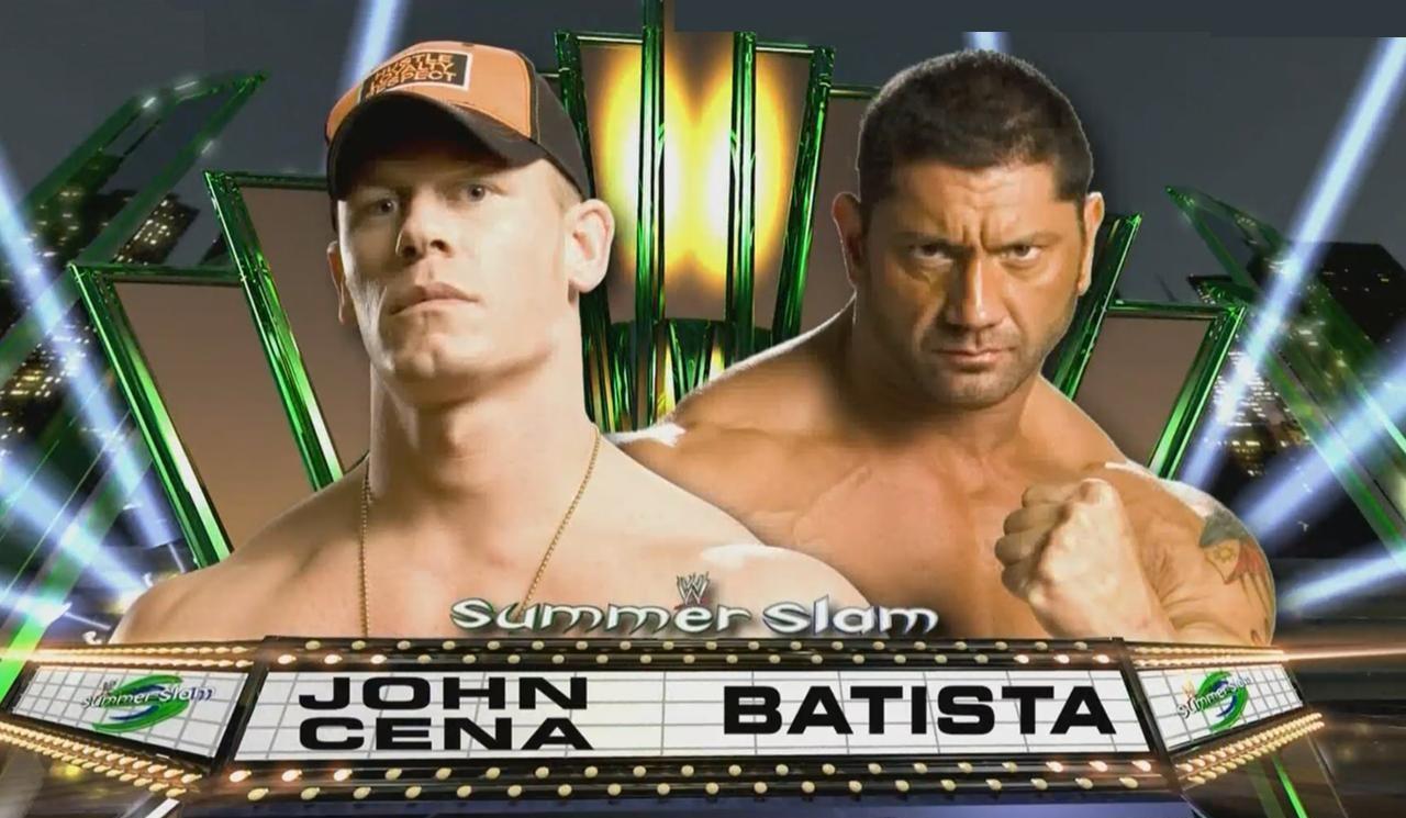 John Cena Vs Batista