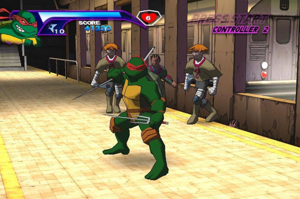 free teenage mutant ninja turtle games
