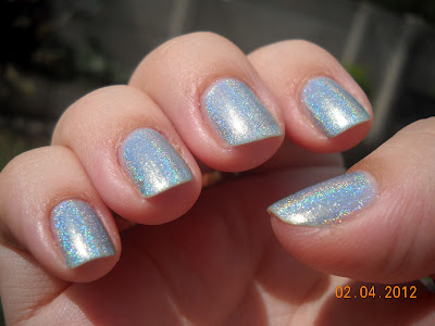 poseidon hits holographic esmaltes nail polish uñas nails