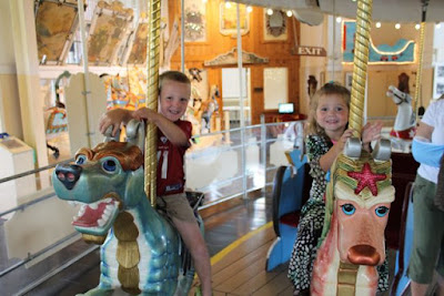 Carousel at Merry Go Round Museum • Sandusky, Ohio