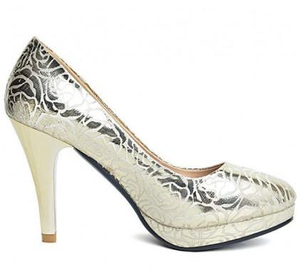 Gold High Heels: Gold High Heels