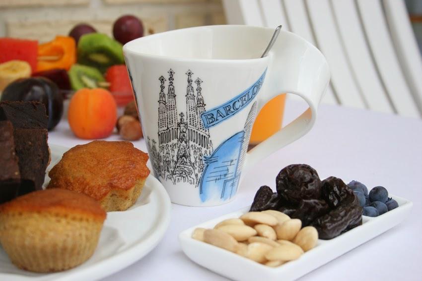 Desayuno al aire libre con la nueva laza New Wave Barcelona de Villeroy & Boch1