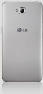 Gambar LG G Pro Lite putih (belakang)