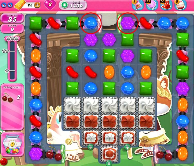 Candy Crush Saga 1430