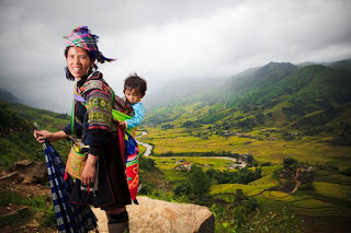 Hmong Women In Sapa