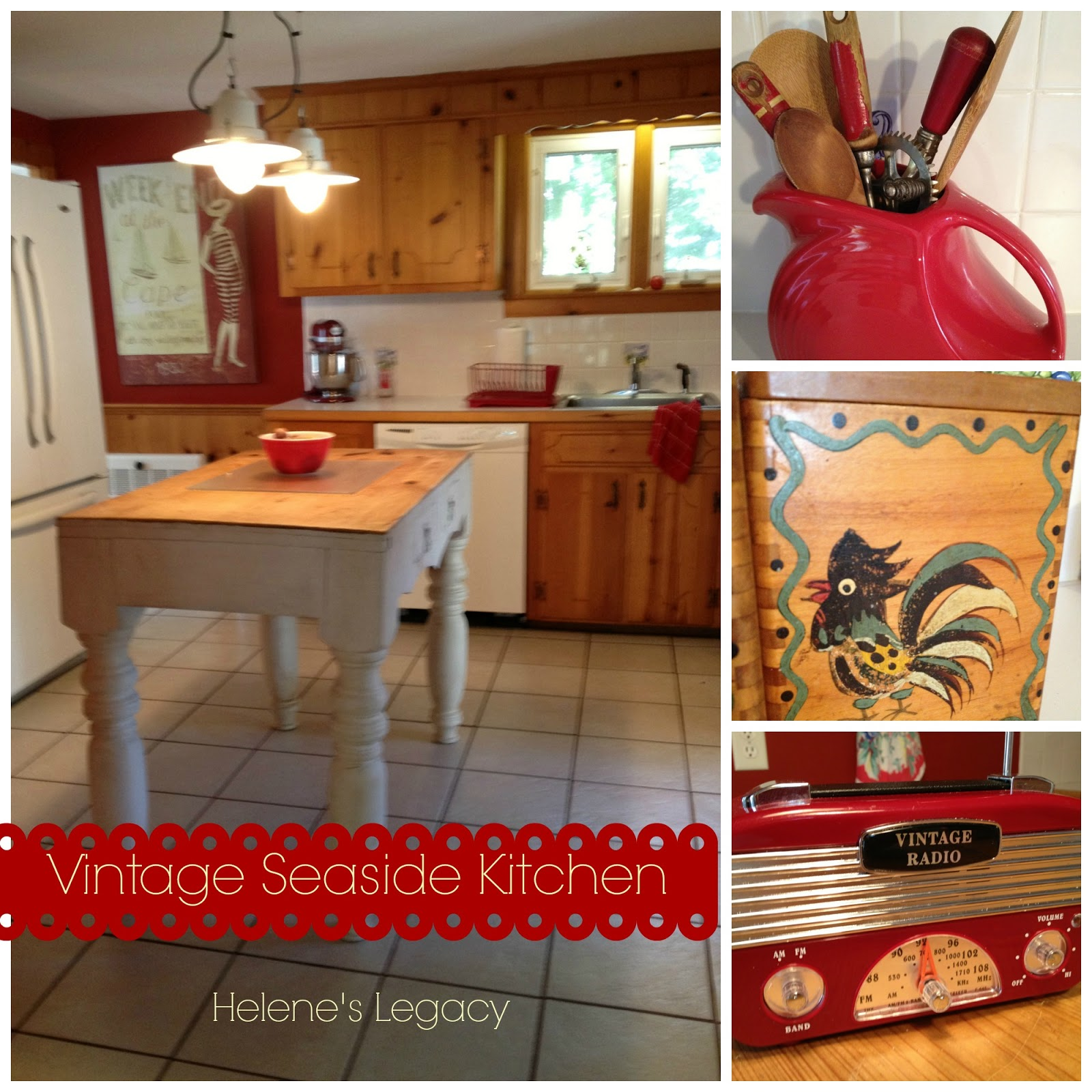 Vintage Seaside Kitchen
