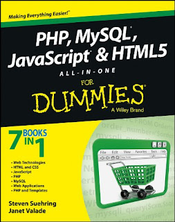 PHP MySQL JavaScript and HTML5 All-in-One For Dummies,download free ebooks