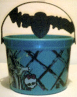 Frankie Stein bucket from McDonald's picture three