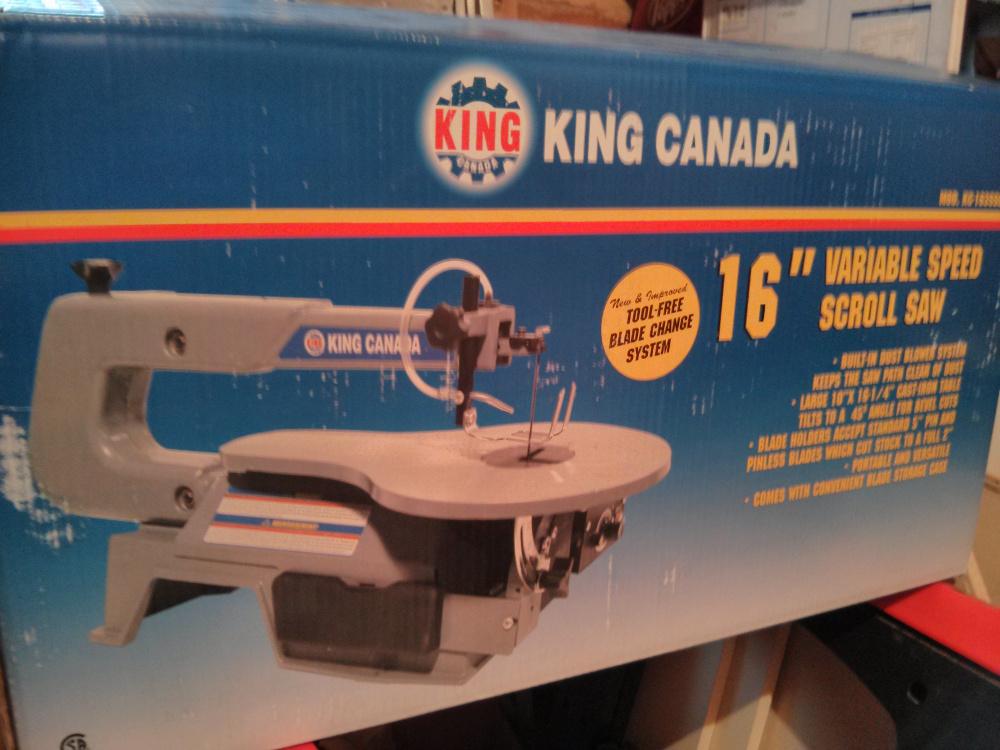 scie a chantourner king canada