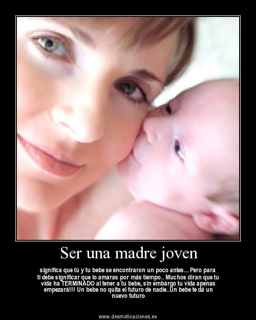 Frases para Madres Jvenes - Frases, citas, imgenes