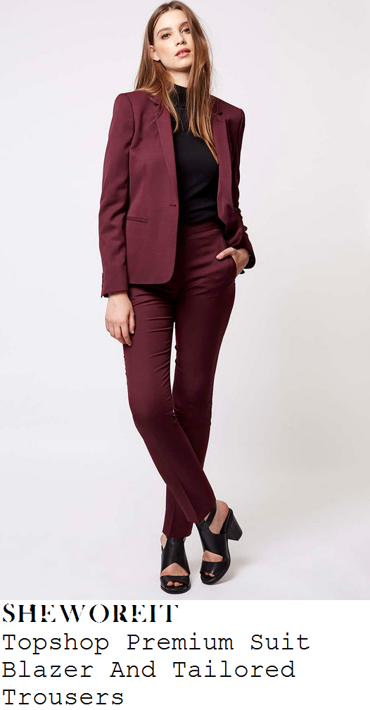 rochelle-humes-burgundy-purple-long-sleeve-blazer-and-trousers-suit-co-ords-xtra-factor