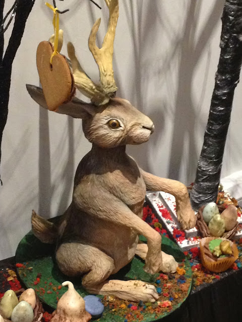 Baketopia Edible Hare Enchanted Woodland