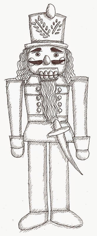 Free Nutcracker Coloring Pages Pictures