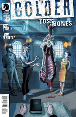 Cover of Colder Toss The Bones #2, courtesy of Dark Horse Comics