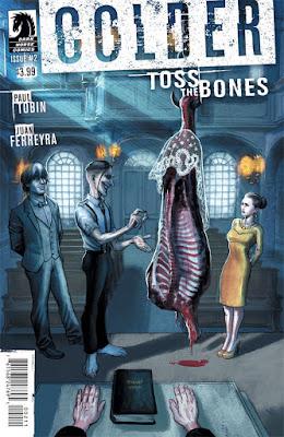 Cover of Colder Toss The Bones #2, courtesy of Dark Horse Comics