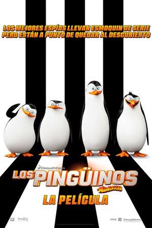 Poster Penguins of Madagascar 2014