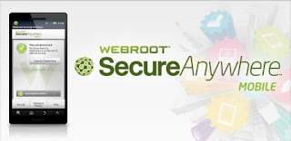 WeebRoot SecureAnywhere Android Anti virus