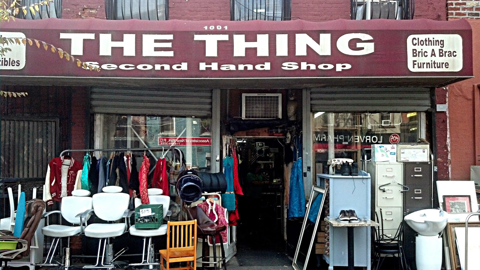 Second hand clothing stores nyc