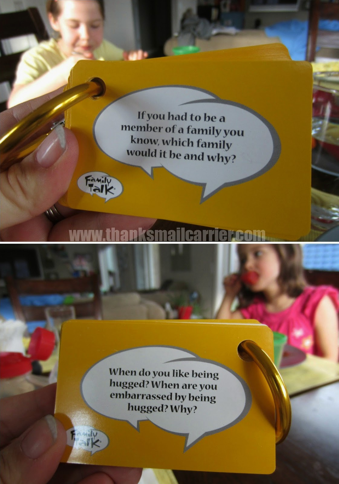 family talk game