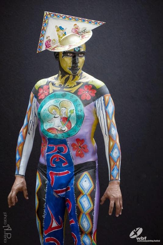 Kumpulan Foto Body Painting 5