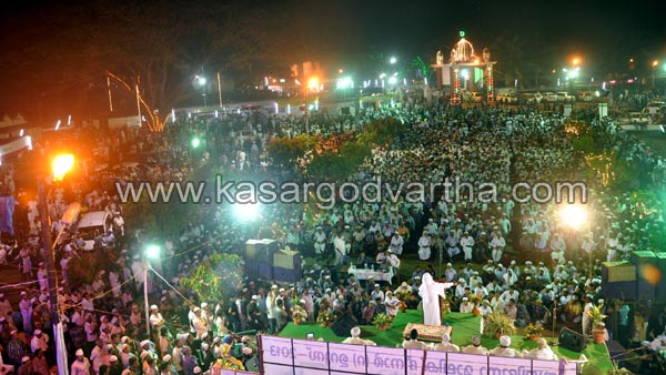 Kasaragod, Malik Deenar, Uroos, Kerala, Committee, Conference, Natives, Kasargodvartha, Malayalam News, Malik Deenar Uroos Ends With Food Distribution. 