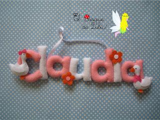 nombre-fieltro-claudia-regalo-nacimiento-bebe-decoración-infantil