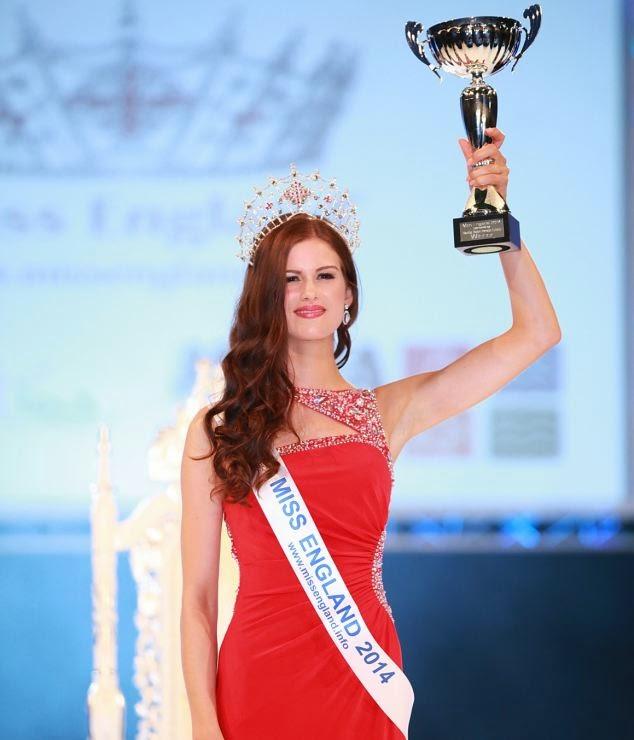 Miss England 2014 winner Carina Tyrell