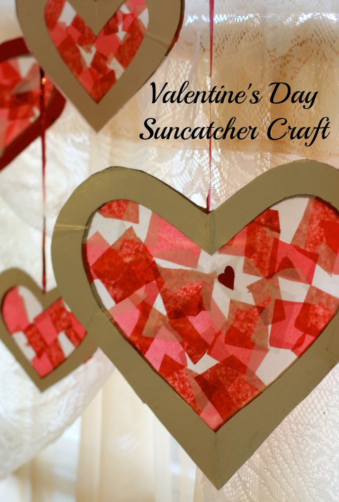 10 valentine s day crafts for kids fun home things for Kids valentines day craft
