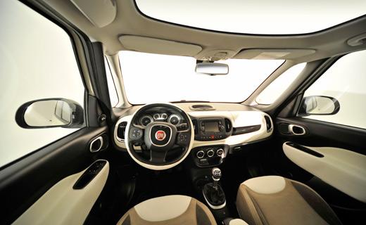 Fiat 500L Interior.