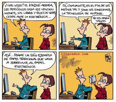 Viñeta de humor de Jesús Martínez del Vas
