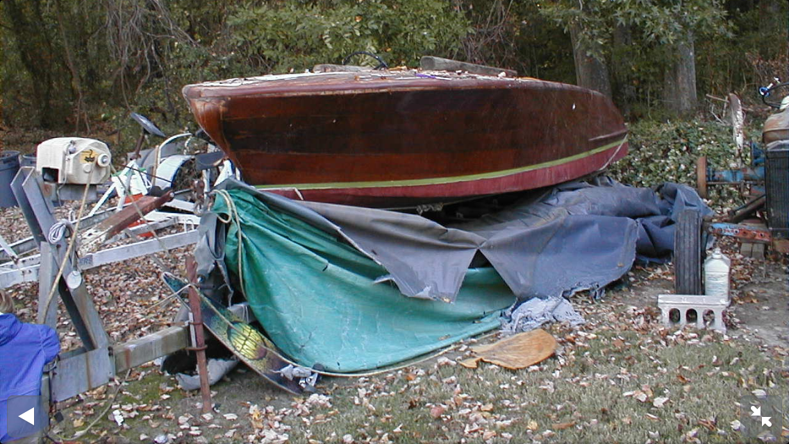 Before - 1956 Chris-Craft Capri 19'