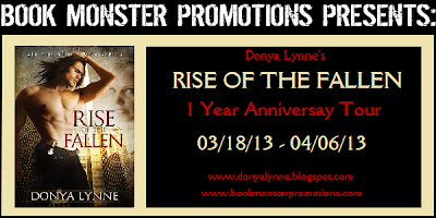 Rise of the Fallen, Donya Lynne, blog tour