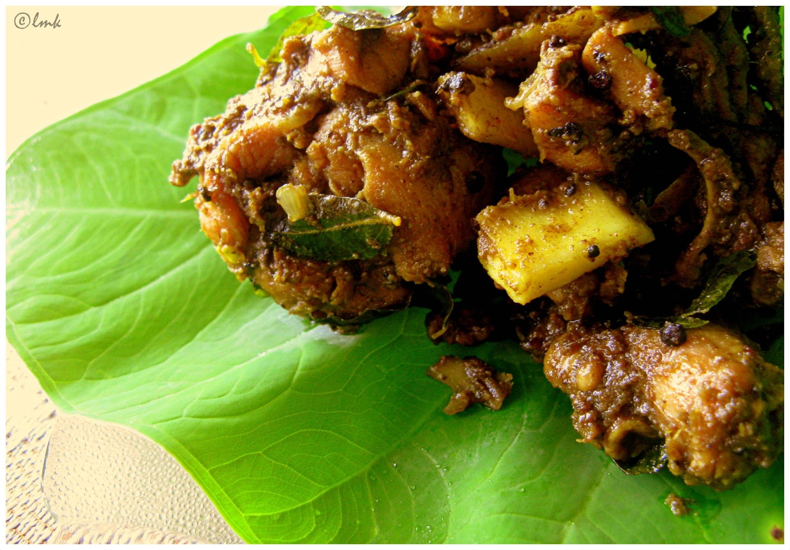 Chicken ularthiyathu recipe