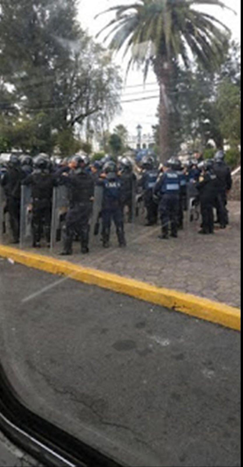 Otro caso de abuso de autoridad de la policía capitalina en Tláhuac