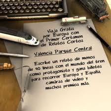 I certamen de relatos cortos Valencia Parque Central ( 2011)
