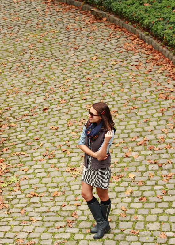 The Steele Maiden: Cloisters NYC how to wear Fall layers
