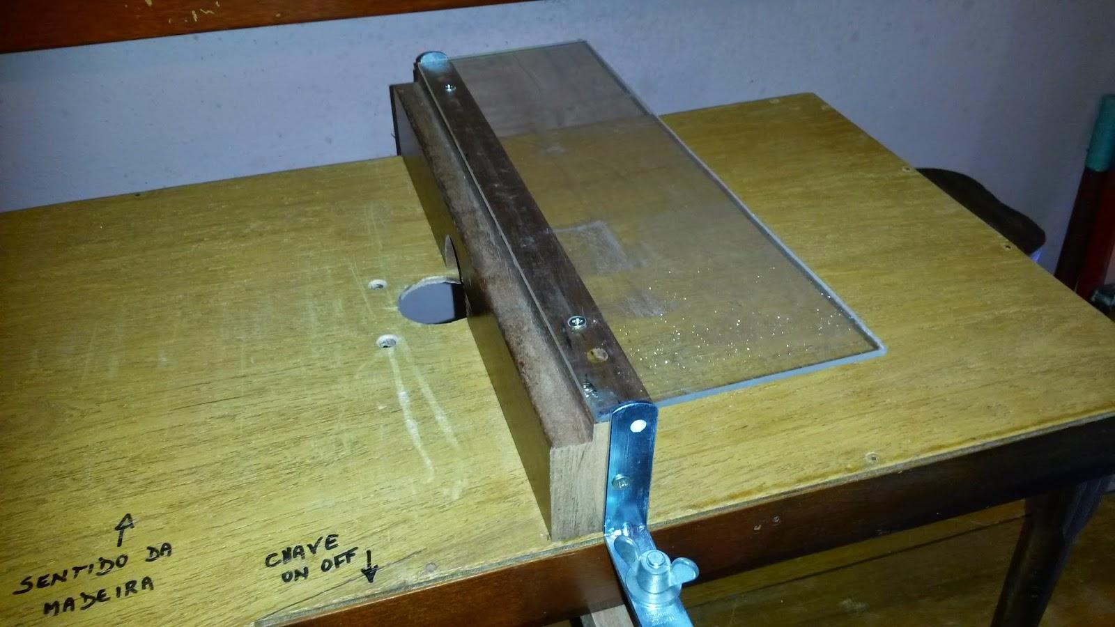 Oficina do Quintal: Como fazer uma bancada para tupia Parte III #2186AA 1600x900