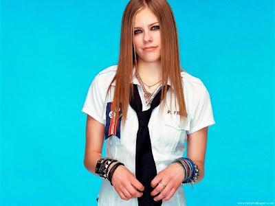 Avril Lavigne The Best Damn Thing Singer