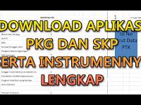 Download Instrumen PKG dan Aplikasi PKG Lengkap