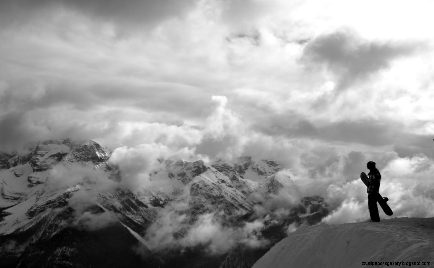 Snowboarding Mountain Desktop Backgrounds