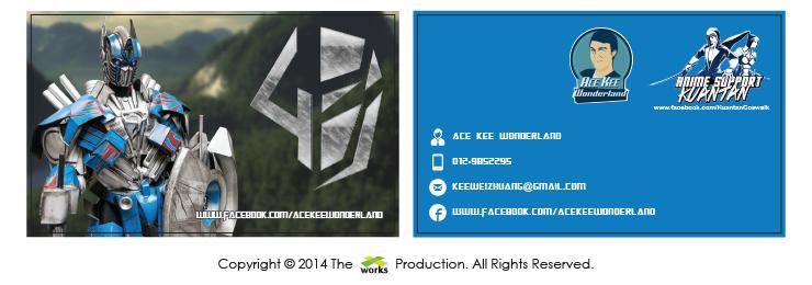 ace kee wonderland, coscard