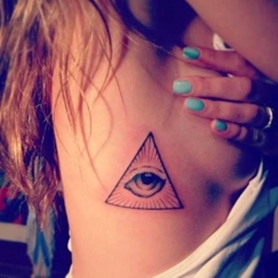 Cool And Awesome Egyptian Eye Tattoos