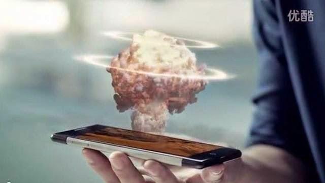Smartphone capaz de proyectar imágenes en 3D